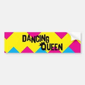 Dancing Queen Pegatina Para Auto