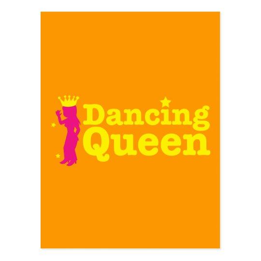 Dancing Queen Postcard