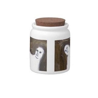 Dancing Queens (odd surrealism ) Candy Jar