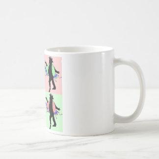 Dancing Rabbi Style Coffee Mug
