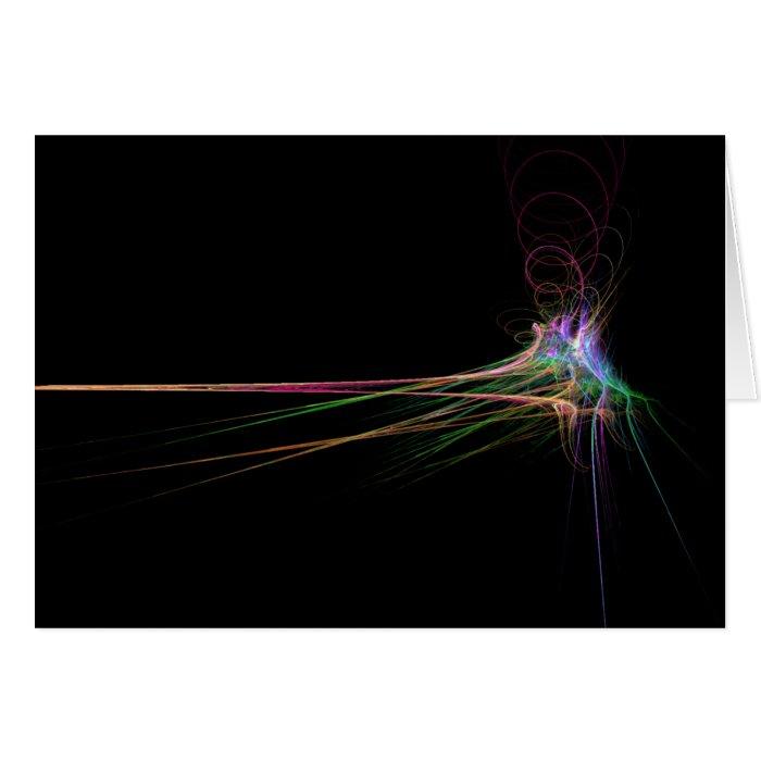 Dancing Rainbow Card