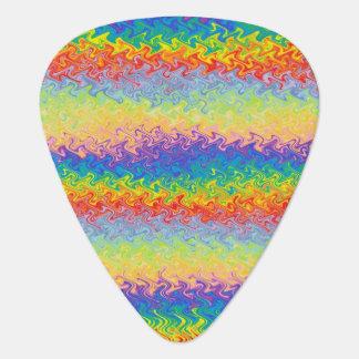 Dancing Rainbow Guitar Pick