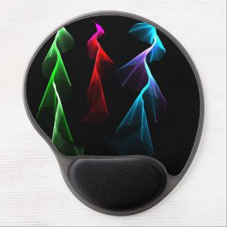 Dancing Rainbow Lightning Gel Mouse Pads