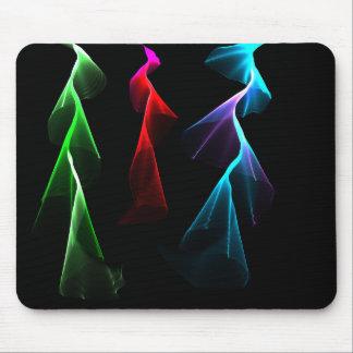 Dancing Rainbow Lightning Mousepad