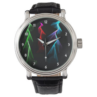 Dancing Rainbow Lightning Wristwatches