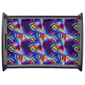 Dancing Rainbows Serving Tray