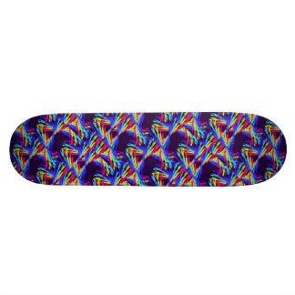 Dancing Rainbows Skateboard Deck