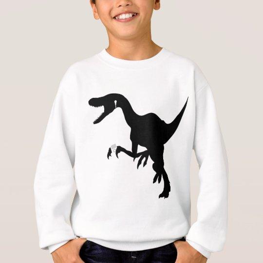 Dancing Raptor design Sweatshirt