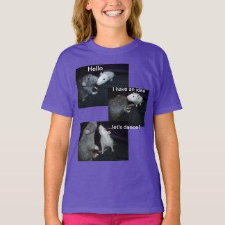 dancing rats T shirt