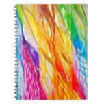 Dancing Ribbon Nebula Notebook