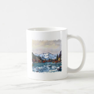 Dancing River Coffee Mug Basic White Mug