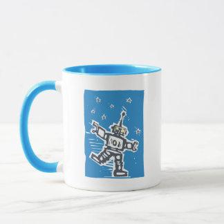 Dancing Robot Mug
