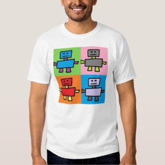 Dancing Robot Pop Art T-Shirt