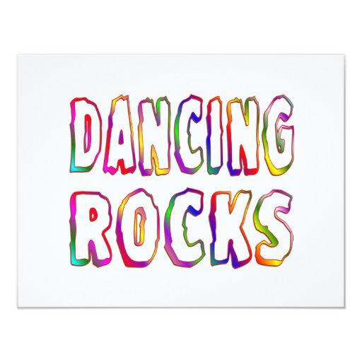 Dancing Rocks 4.25x5.5 Paper Invitation Card