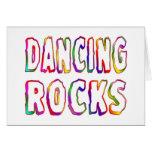 Dancing Rocks Greeting Card