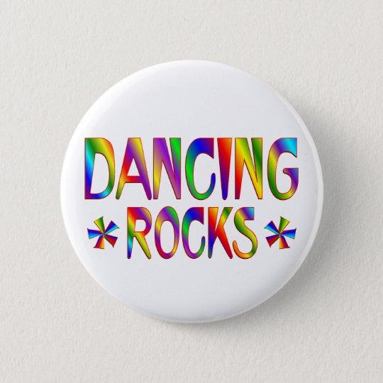 Dancing Rocks Pinback Button