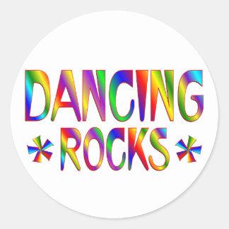 Dancing Rocks Stickers