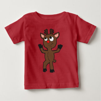 Dancing Rudolph Infant shirt