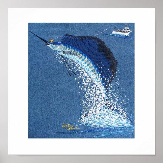 Dancing Sailfish Poster