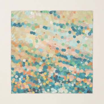 Beach Themed Dancing Sand in Tide Scarf by Juul