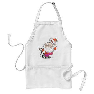 Dancing Santa apron