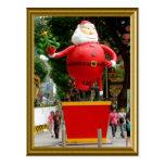 Dancing Santa Postcard