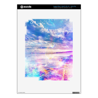 Dancing Sea Decals For iPad 3