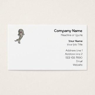 Dancing Shark. Business Card