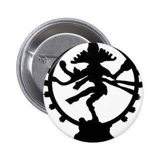 Dancing Shiva Pinback Button