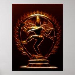 Dancing Shiva Poster