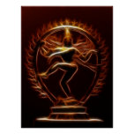 Dancing Shiva Posters