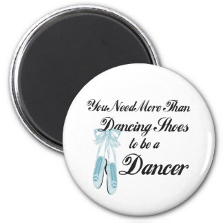 Dancing Shoes 2 Inch Round Magnet