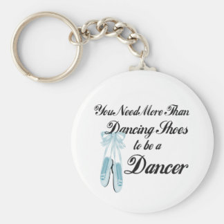 Dancing Shoes Basic Round Button Keychain