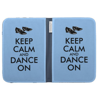 Dancing Shoes Customizable Keep Calm and Dance On Kindle Cover