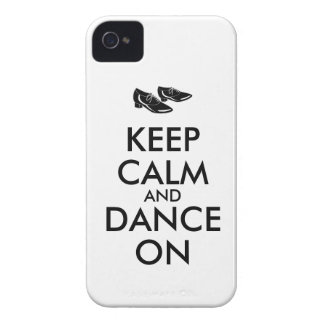 Dancing Shoes Customizable Keep Calm and Dance On iPhone 4 Case-Mate Case