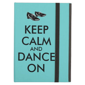 Dancing Shoes Customizable Keep Calm and Dance On iPad Air Cover