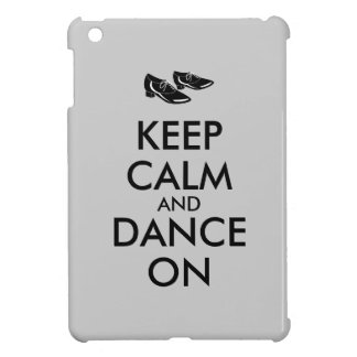 Dancing Shoes Customizable Keep Calm and Dance On Cover For The iPad Mini