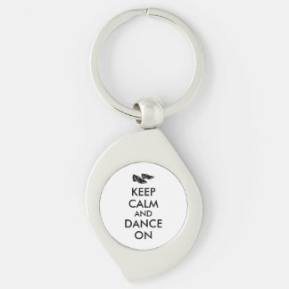 Dancing Shoes Customizable Keep Calm and Dance On Key Chains