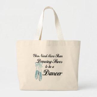 Dancing Shoes Large Tote Bag
