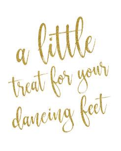 746519fd8a7a24 Dancing Shoes Shoes Gold Glitter 8x10 Wedding Sign