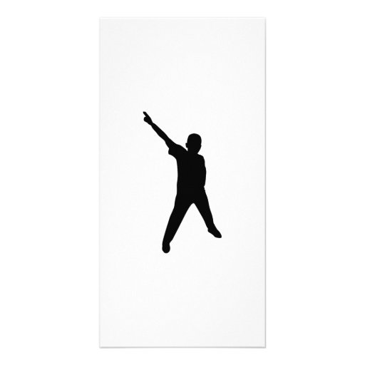 Dancing Silhouette Photo Cards