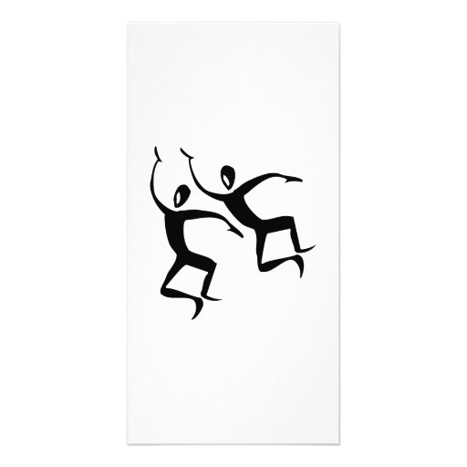 Dancing Silhouettes Photo Cards