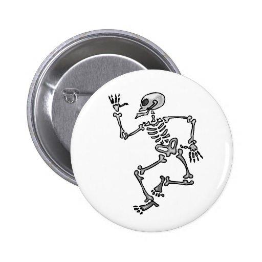 Dancing Skeleton Button