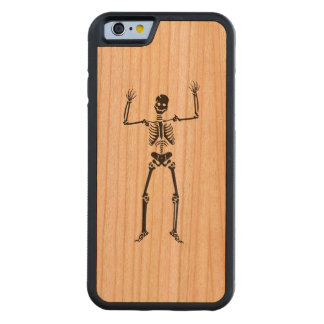 Dancing Skeleton Carved® Cherry iPhone 6 Bumper Case
