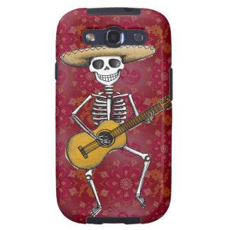 Dancing Skeleton Samsung Galaxy S3 Case