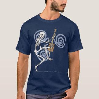 Dancing Skeleton Guitarist T-Shirt