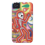 Dancing Skeleton iPhone 4 Case by Case-Mate