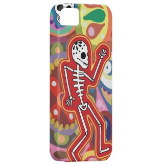 Dancing Skeleton iPhone 5 Barely There Case iPhone 5 Cover