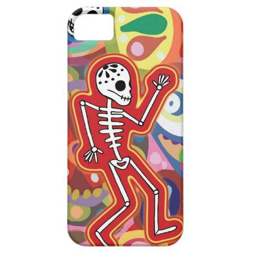 Dancing Skeleton iPhone 5 Cases