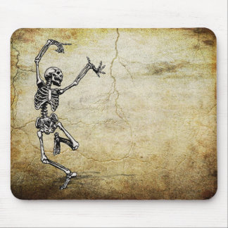 Dancing Skeleton Mouse Pad